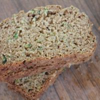 Gluten Free Zucchini Bread by Frugal Farm Wife