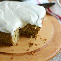 Gluten Free Zucchini Cake by Minimalist Baker
