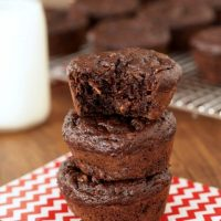 Healthy_Double_Chocolate_Zucchini_Muffins by Faithfully Gluten Free