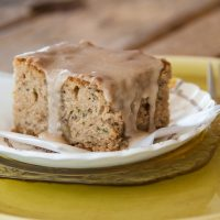 Zucchini Snack Cake by Free Eats Food