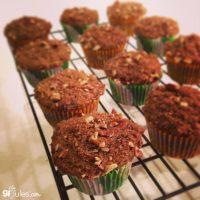 zucchini-pumpkin-muffins by GF Jules