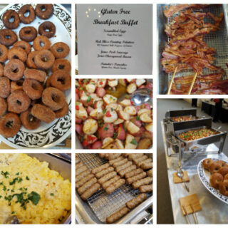 Gluten-free Breakfast Buffet at celiac disease conference