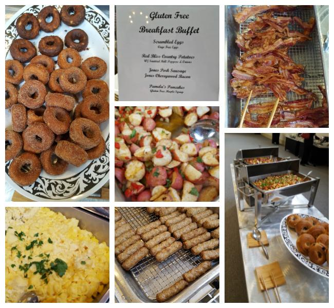 Gluten-free Breakfast Buffet at celiac disease conference
