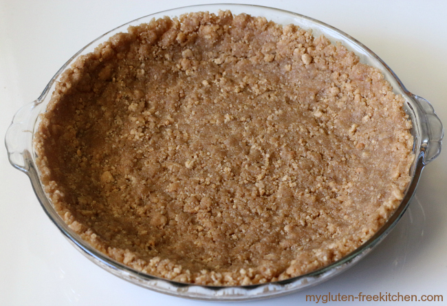 Gluten-free Snickerdoodle Streusel Pie Crust