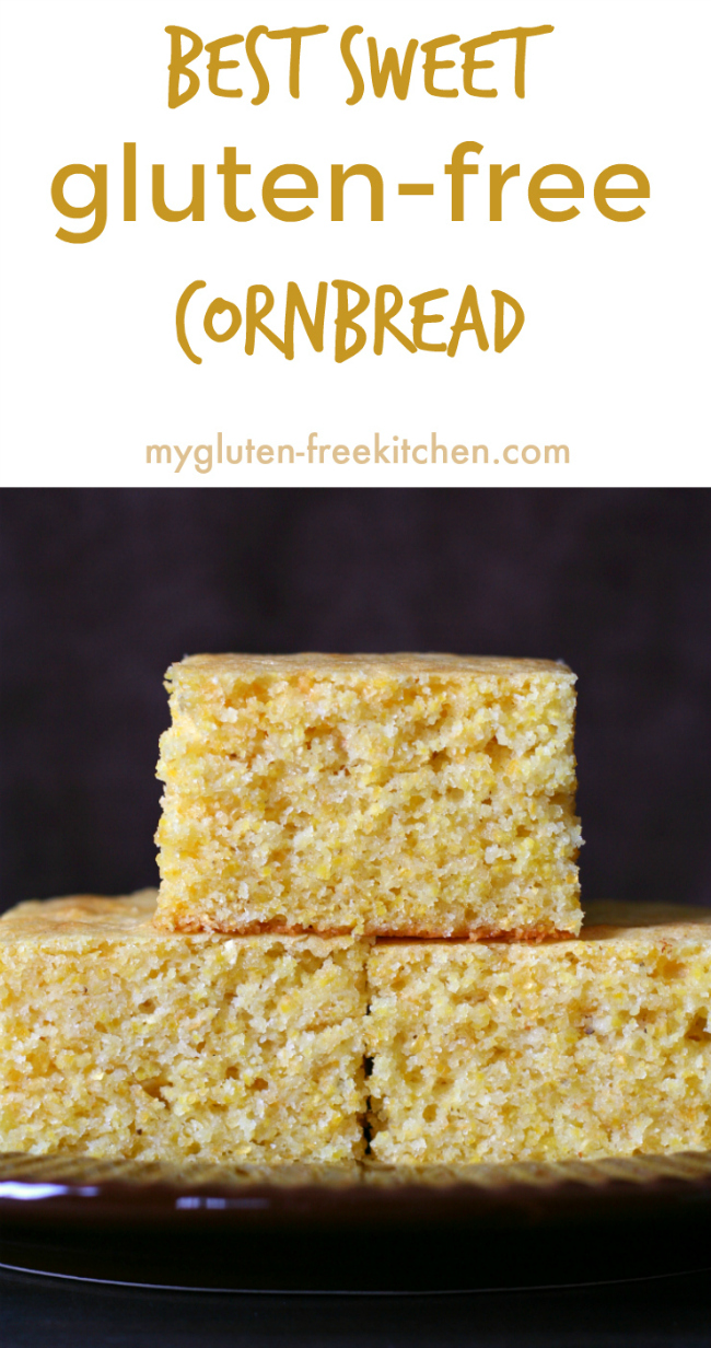Best Sweet Gluten-free Cornbread Recipe