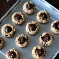 Gluten-free Peanut Butter Chocolate Cookie Cups