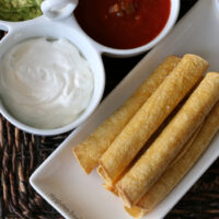 Gluten-free Baked Taquitos