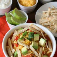 Chicken Tortilla Soup gluten-free, dairy-free recipe
