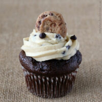 Gluten-free Chocolate Cupcakes with Chocolate Chip Buttercream