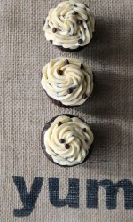 Gluten-free Chocolate Cupcakes with Chocolate Chip Frosting