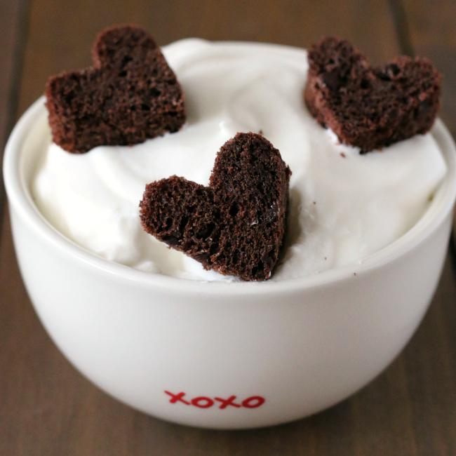 Gluten-free chocolate valentine's hearts