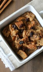 Gluten Free Cinnamon Raisin Baked French Toast Casserole