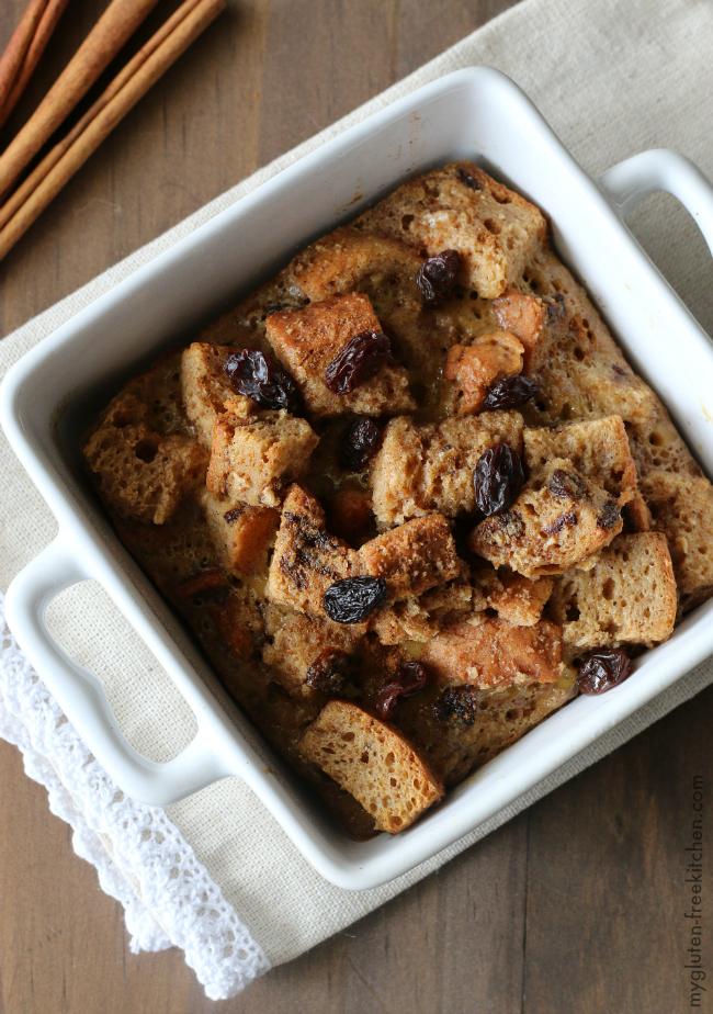 Gluten Free Cinnamon Raisin Baked French Toast Casserole
