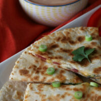 Gluten-free Bacon Ranch Quesadillas