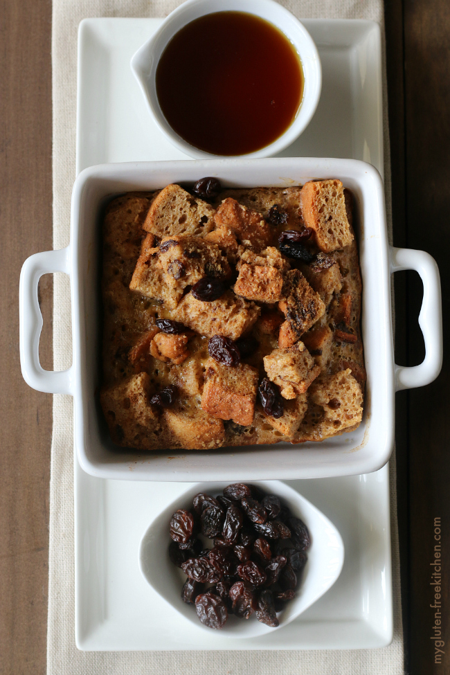 Gluten-free Cinnamon Raisin French Toast Casserole