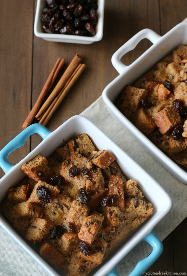 Individual Gluten-free Cinnamon Raisin Baked French Toast Casseroles
