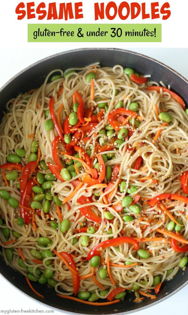 Skillet Sesame Noodles