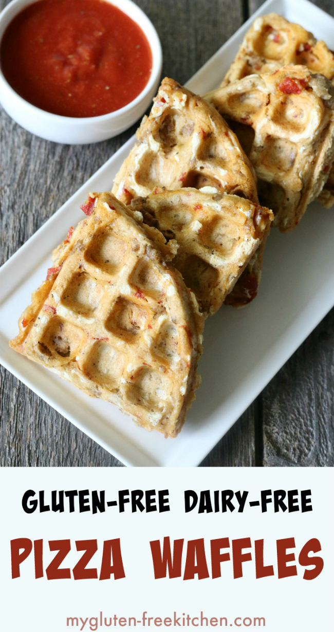 Gluten-free Pizza Waffles Recipe