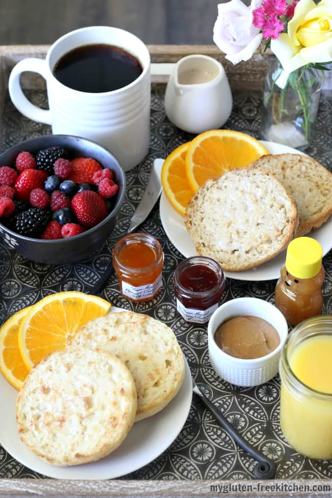 Brunch with Udi's Gluten-free English Muffins
