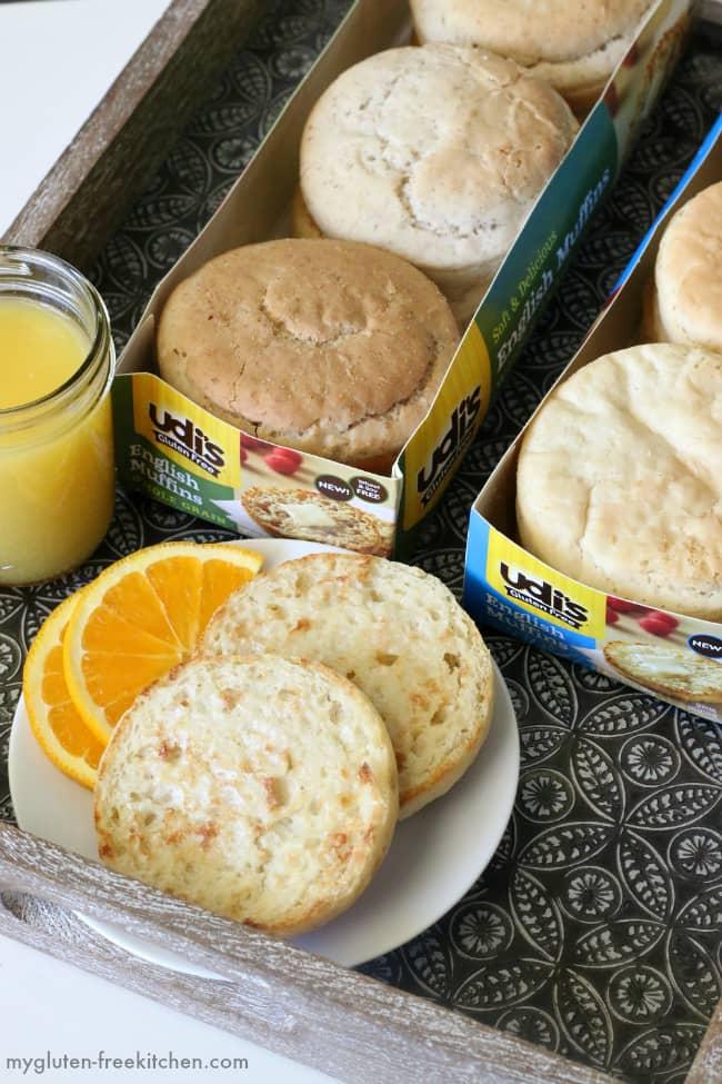 Udi's Gluten-free English Muffins