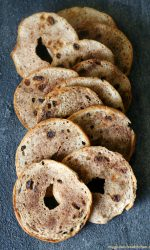 Gluten-free Cinnamon Raisin Bagel Chips