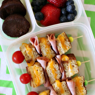 Gluten-free Grilled Cheese Kabobs