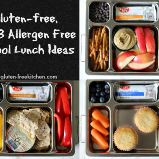 Three Gluten-free, Top 8 Free School Lunches + New chewy bars