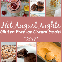 Gluten-free Caramel Sauce for Sundaes Plus Hot August Nights Virtual Ice Cream Social