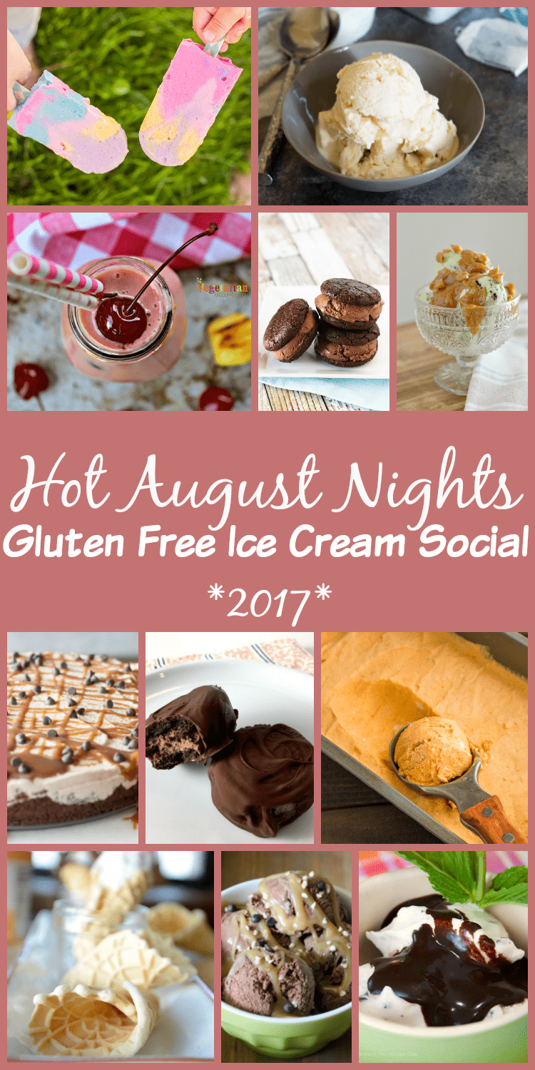 12 bloggers share recipes for a gluten-free ice cream social!