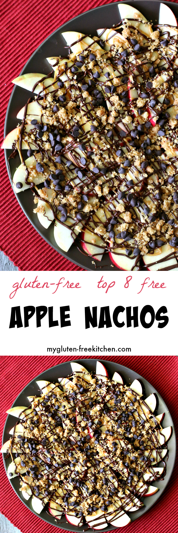 Gluten-free Apple Nachos recipe top 8 free