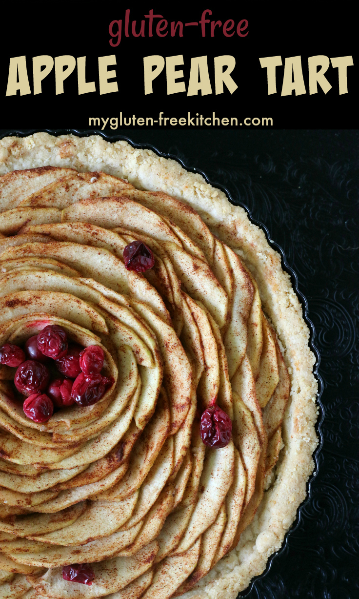 GLUTEN FREE APPLE PEAR TART