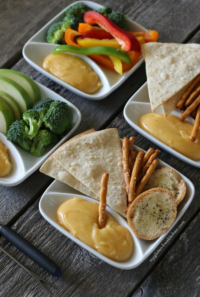 Gluten-free Cheese Fondue kid-friendly