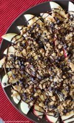 Gluten-free Dairy-free Apple Nachos Recipe #glutenfreerecipe #dairyfreerecipe #top8free