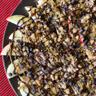 Gluten-free Apple Nachos {dairy-free, top 8 free too!}