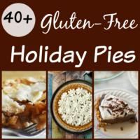 40+ Gluten-free Holiday Pies Recipe Round-up