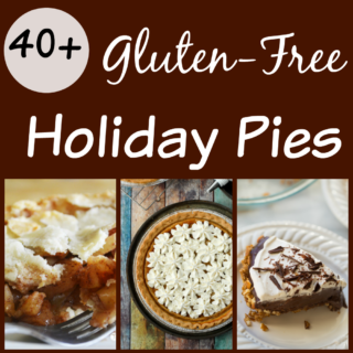 Gluten Free Holiday Pies. Over 40 recipes for decadent holiday pies that just happen to be gluten-free!
