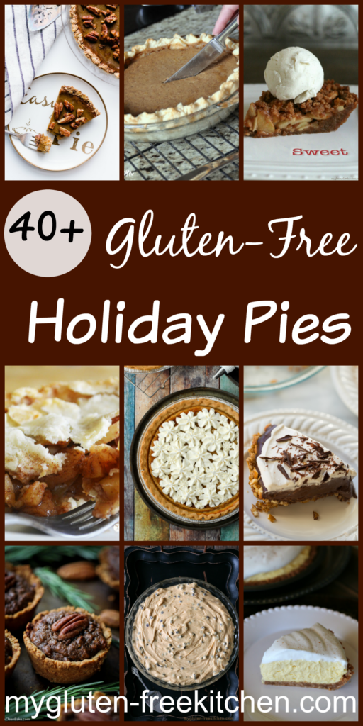 Over 40 recipes for gluten-free pies. You're sure to find a new favorite here!