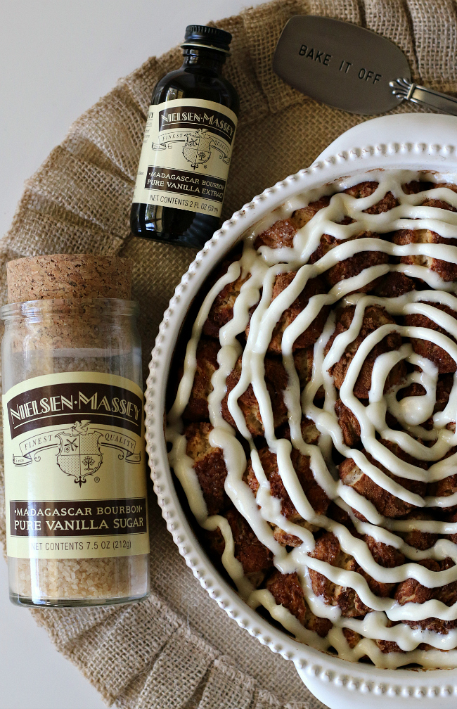 Gluten-free Cinnamon Pull-Apart Rolls for holiday breakfast
