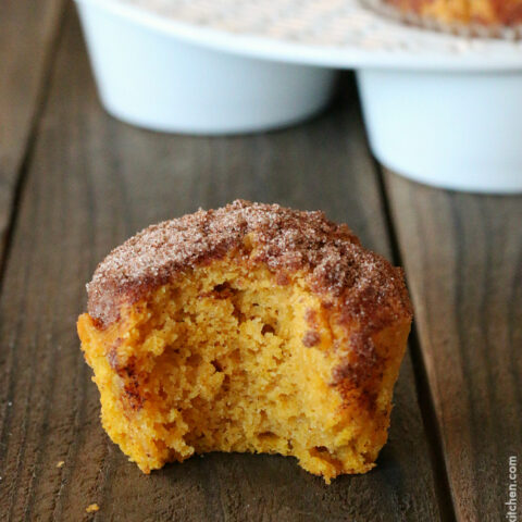 Gluten-free Snickerdoodle Pumpkin Muffin