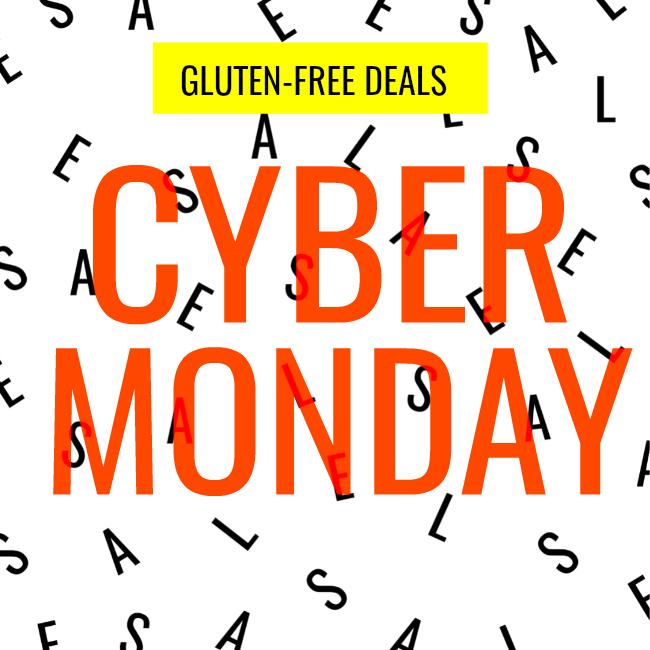Cyber Monday gluten-free deals 2017