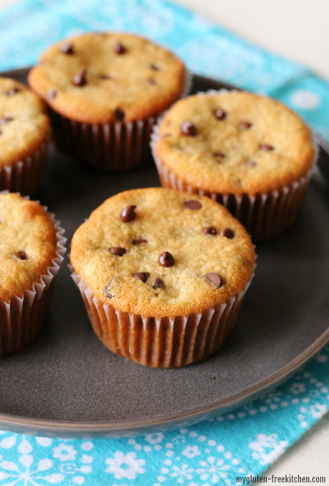 Gluten-free Dairy-free Banana Chocolate Chip Muffins