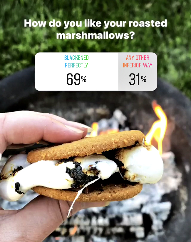 Roasted Marshmallows poll