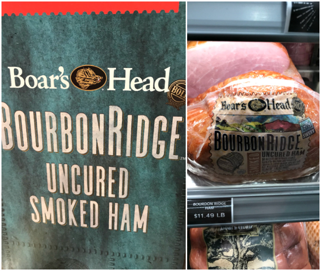 Boar's Head Uncured Smoked Ham