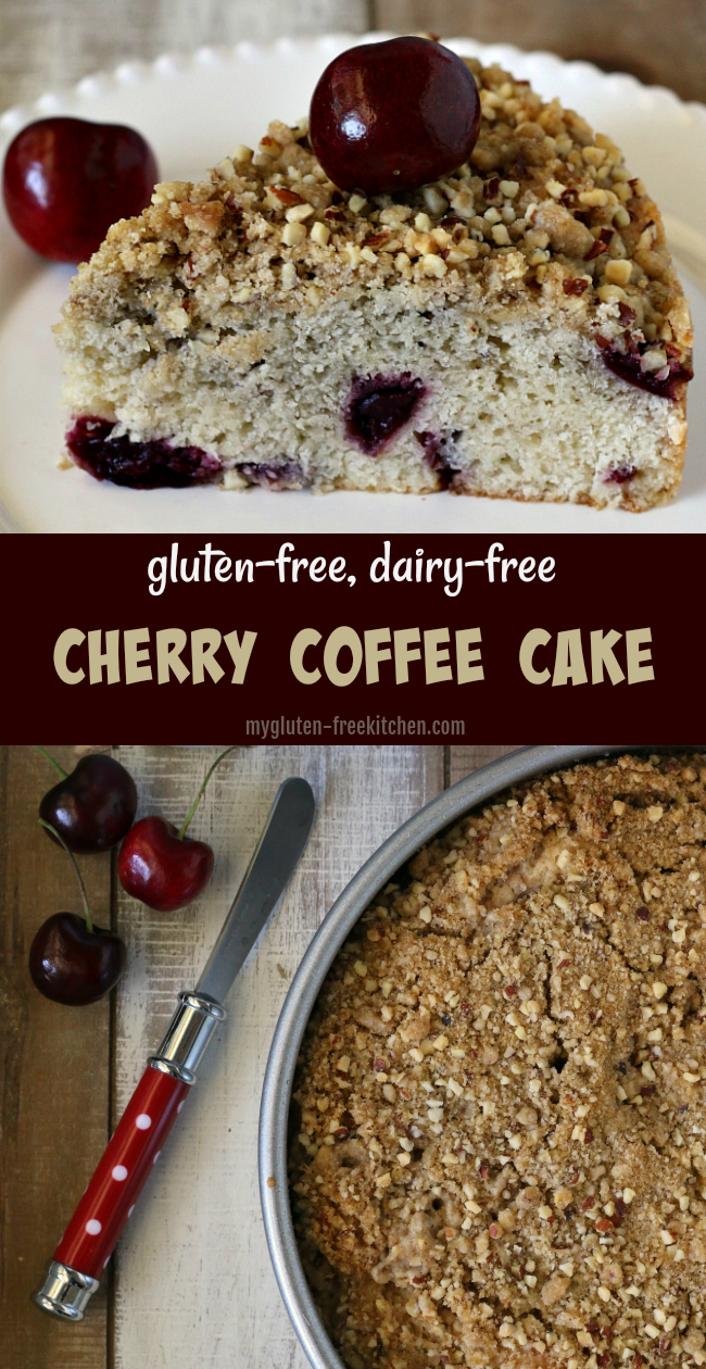 Gluten-free Cherry Coffee Cake Recipe