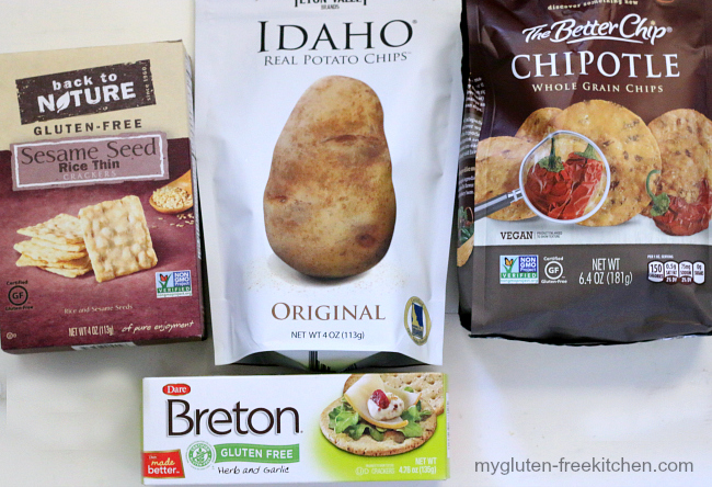 Gluten-free Crackers and Chips
