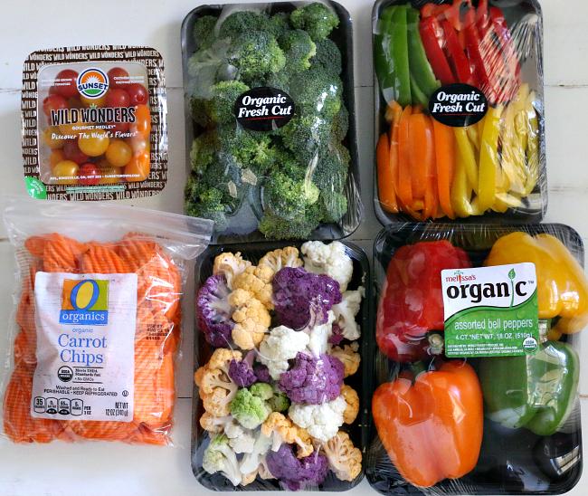 Vegetables for Veggie Tray