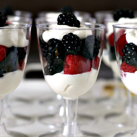 Easy Berry Trifles Recipe