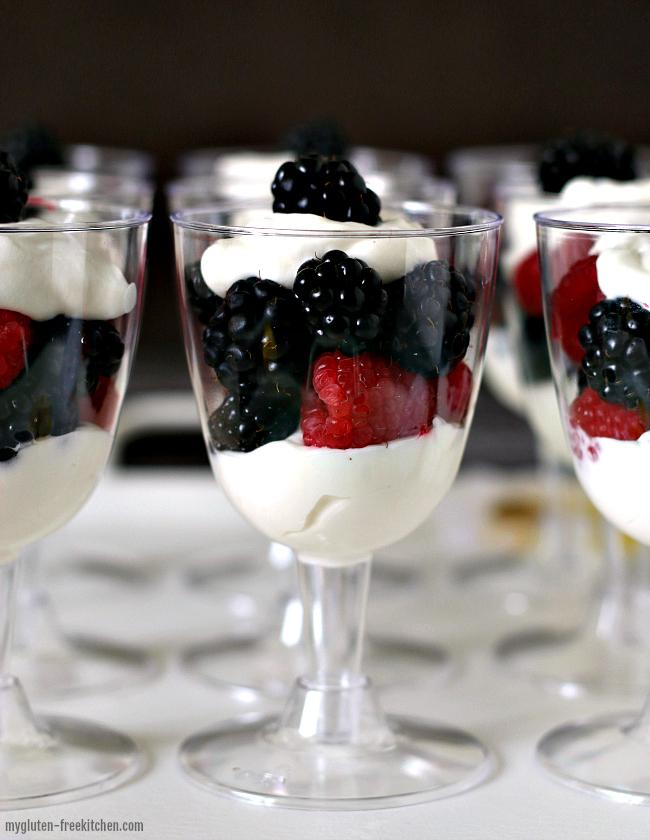 Easy Berry Trifles Recipe
