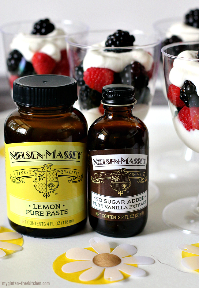 Gluten-free Easy Berry Trifles with Nielsen-Massey