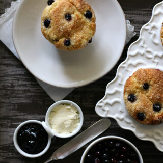 Gluten-free Huckleberry Muffin Recipe